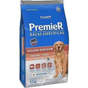 Premier Golden Retriever Adultos - 12kg
