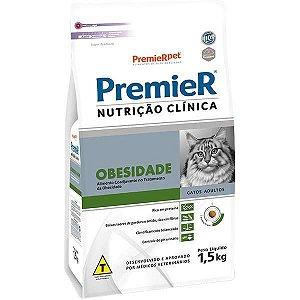 Premier Nutrição Clínica Gatos Obesidade 1,5kg