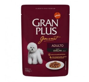Gran Plus Sachê Cães Adultos - Gourmet 85g