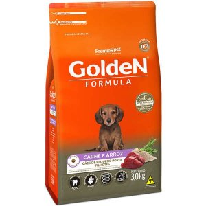 Golden Fórmula Filhote Carne Mini B 3kg