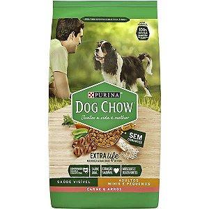 Dog Chow Pet Esp Adultos - Raças Pequenas Carne 3kg