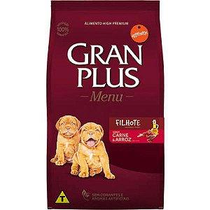 Gran Plus Cães Filhote - Carne/Arroz 15kg