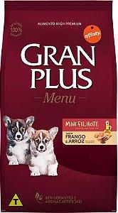 Gran Plus Cães Filhote - Menu Mini Frango 1kg