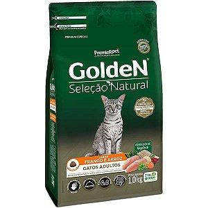 Golden Seleção Natural Gatos Adultos - Frango/Arroz 1kg