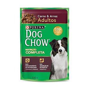 Dog Chow Sachê Adultos - Carne/Arroz 100g