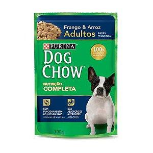 Dog Chow Sachê Adultos - Raças Pequenas Frango/Arroz 100g