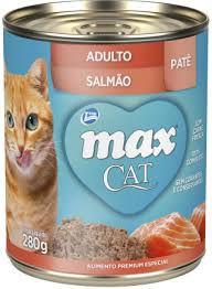 Max Cat Patê Adultos - Salmão 280g