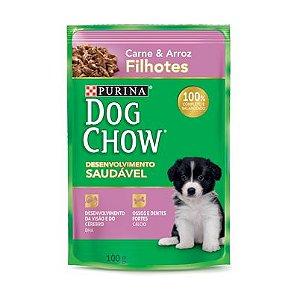 Dog Chow Sachê Filhote Carne/Arroz 100g