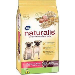 Naturalis Adultos - Raças Pequenas  Frango/Peru 15kg