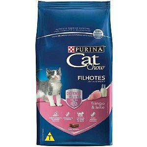 Cat Chow Filhotes Frango/Leite 1kg
