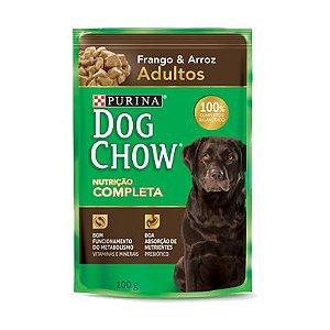 Dog Chow Sachê Adultos - Frango/Arroz 100g