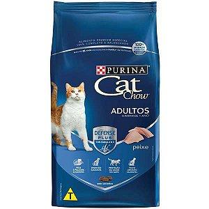 Cat Chow Adultos - Peixe 3kg