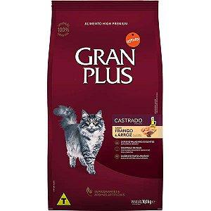 Gran Plus Gatos Castrados - Frango/Arroz 10,1kg