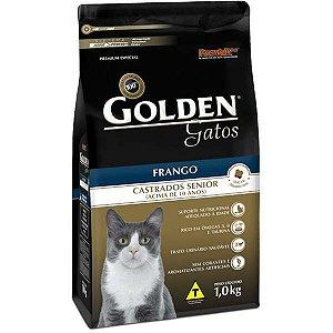 Golden Fórmula Gato - Castrado - Sênior Frango 1kg