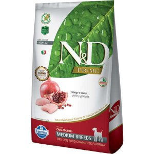 N&D Prime Adultos - Medium Frango/Romã 10,1kg