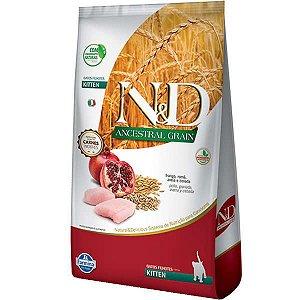 N&D Ancestral Grain Feline Kitten Frango/Romã 400g