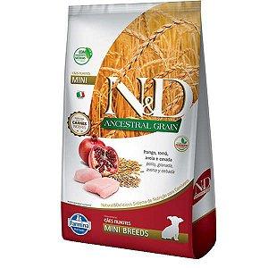 N&D Ancestral Grain Puppy Mini Frango/Romã 800g