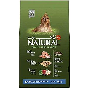 Guabi Natural Cães Adultos - Porte Mini E Pequeno - Salmão E Cevada 10,1kg