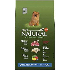 Guabi Natural Cães Adultos - Porte Mini E Pequeno - Cordeiro E Aveia 10,1kg