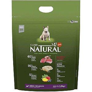 Guabi Natural Cães Adultos - Medio Cordeiro E Aveia 2,5kg