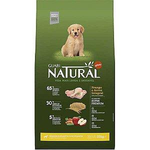Guabi Natural Cães Filhote GG Frango E Arroz Integral 20kg