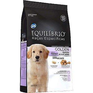 Equilíbrio Filhote - Raças Específicas Golden Retri Frango 12kg