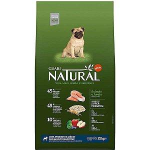 Guabi Natural Cão Sensitive Pequeno/Medio Salmão E Aveia 12kg