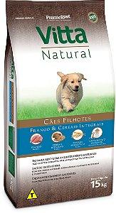 Vitta Natural Filhote Frango/Cereais 15 kg