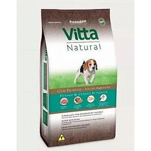 Vitta Natural Filhote Raças Pequenas Frango/Cereais 3 kg