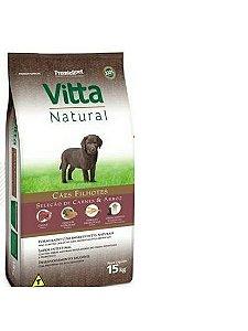 Vitta Natural Filhote Carne/Arroz 15 kg
