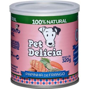 Pet Delícia Cão Papinha Frango 320g