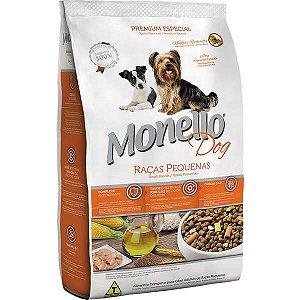 Monello Dog Raças Pequenas 7kg Nuggets/Figado