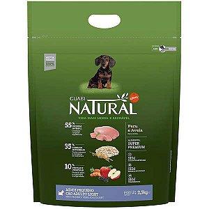 Guabi Natural Cães Adultos - Porte Mini E Pequeno - Light Peru E Aveia 2,5kg