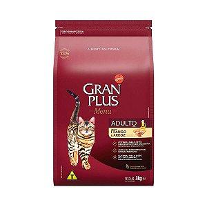 Gran Plus Gatos Adultos - Frango Arroz 3kg