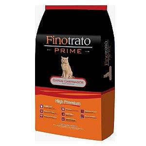 Finotrato Prime Gatos Castrados 10,1kg