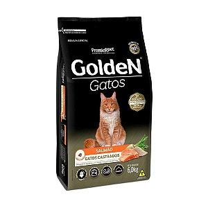 Golden Fórmula Gato Castrado Salmão 6kg