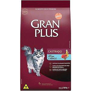 Gran Plus Gatos Castrados - Atum 10,1kg