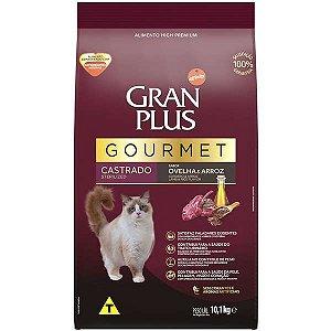 Gran Plus Gato Gourmet - Castrado - Ovelha 10,1kg