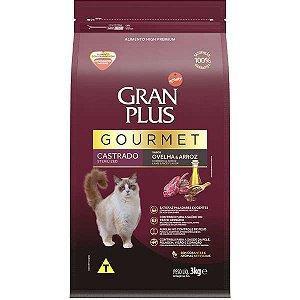 Gran Plus Gato Gourmet - Castrado - Ovelha 3kg