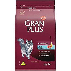 Gran Plus Gato - Castrado - Atum Arroz 1kg