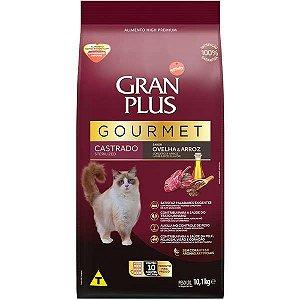 Gran Plus Gato Gourmet - Castrado - Ovelha 10X1 10,1kg