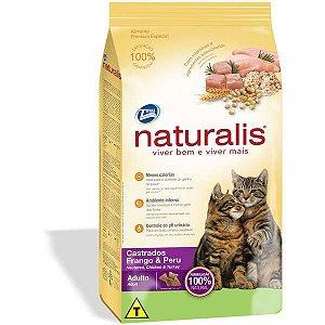 Naturalis Gatos Adultos - Castrado 11,1kg