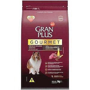 Gran Plus Cães Adultos - Gourmet Médio e Grande Ovelha 3kg