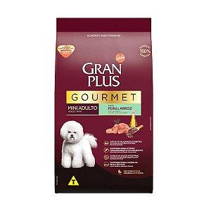 Gran Plus Cães Adultos - Gourmet Mini Peru 3kg