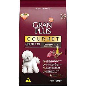 Gran Plus Cães Gourmet Adultos - Mini Ovelha 10X1 10,1kg