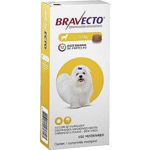 Bravecto Cães 112,5mg 2-4,5kg