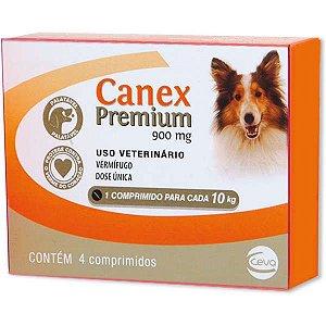 Canex Premium Cães Até 10kg - 4 Comprimidos