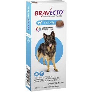 Bravecto Cães 1000mg 20-40kg