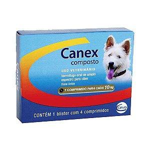 Canex Composto 10kg - 4 Comprimidos