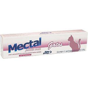 Mectal Pasta Oral Gatos Seringa 3,6g